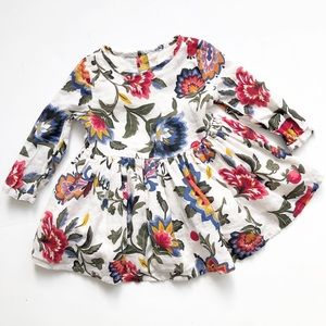 Old Navy floral long sleeve dress